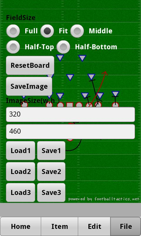 Playbook Android - screenshot