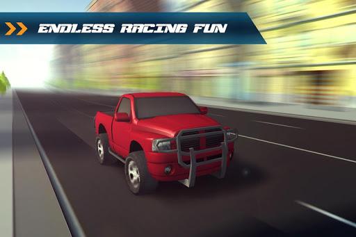 3D Traffic Toon Racer 2015