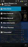 Screenshot of Moon Phases Lite