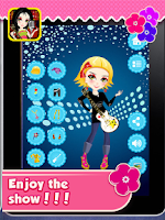 Screenshot of Rockstar Girl Dressup