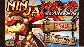 Screenshot of NINJA BAZOOKA GAIDEN
