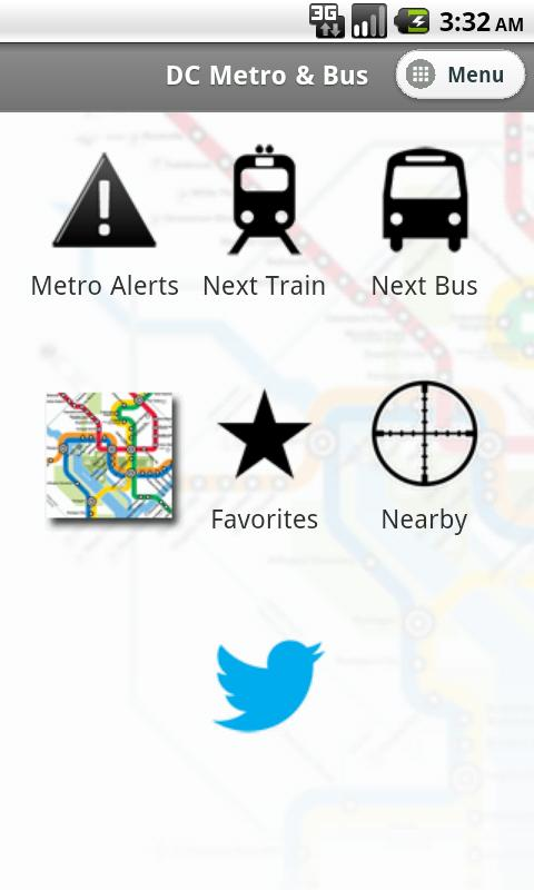 DC Metro and Bus- screenshot