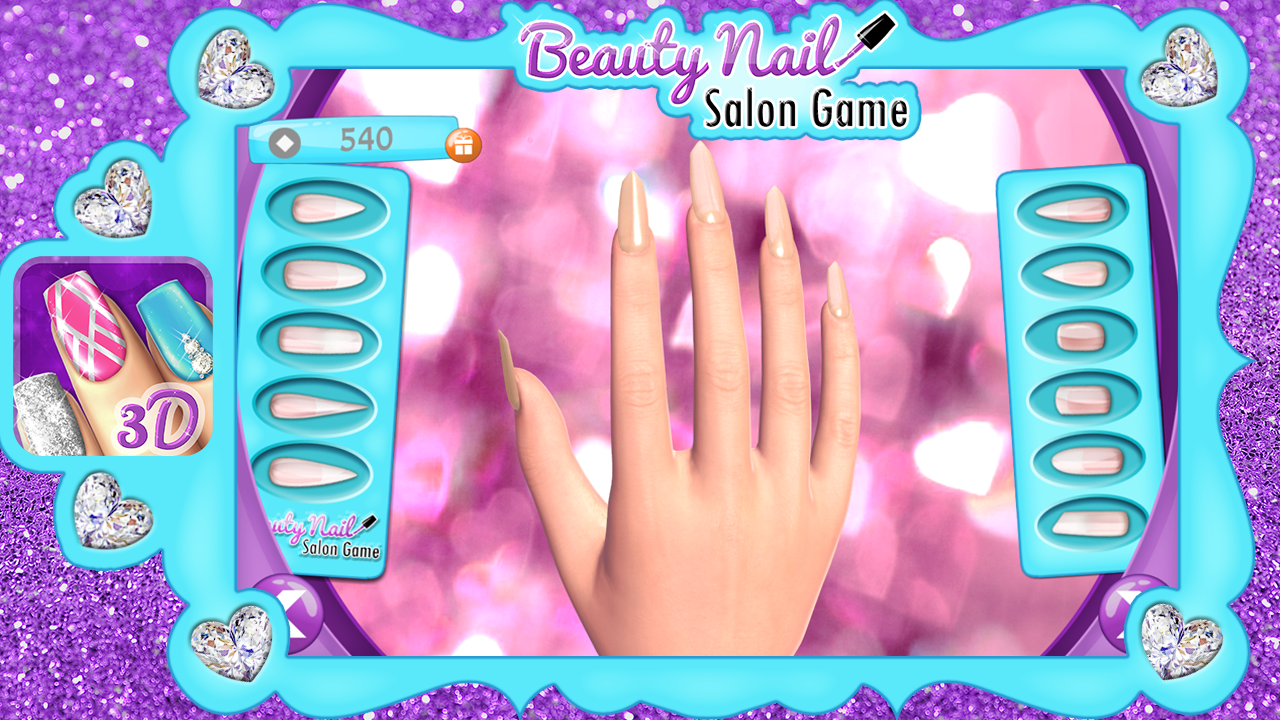 Beauty nail salon game android apps on google play for A nail salon game