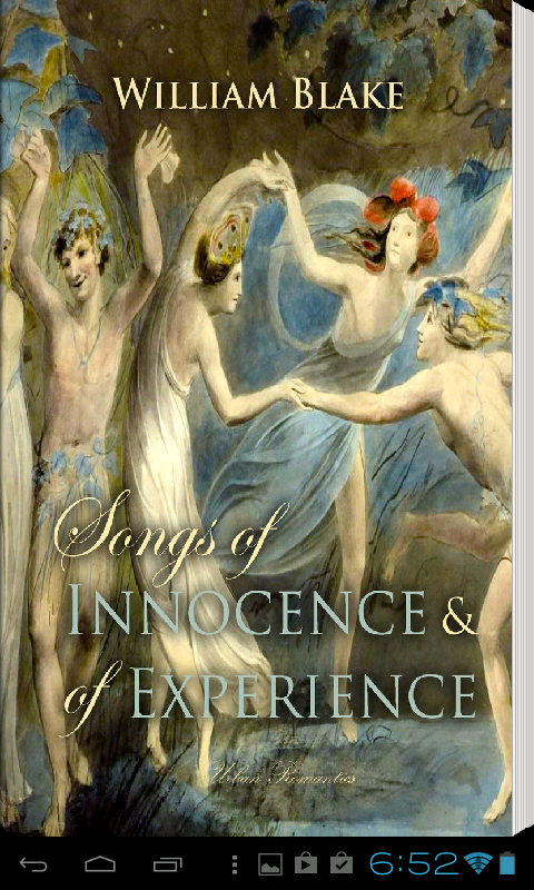 childhood world vs the world of adults in william blakes songs of innocence and experience Take a closer look at william blake's songs of innocence and all is right with the world and for from childhood innocence to adult experience.