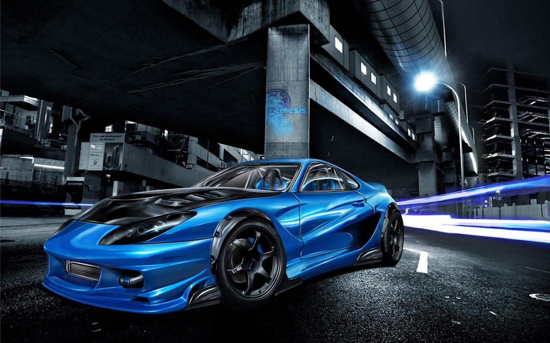 3d racing car wallpaper screenshot