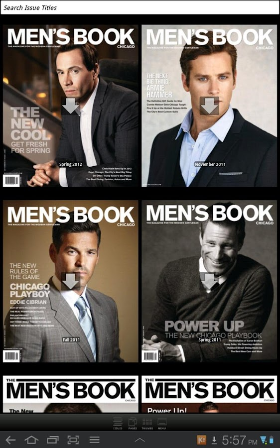 The Men's Book Chicago- screenshot