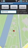 Screenshot of Destination Compass