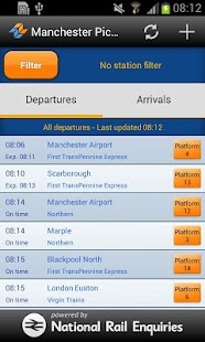 myTrains UK Live Train Times- screenshot thumbnail