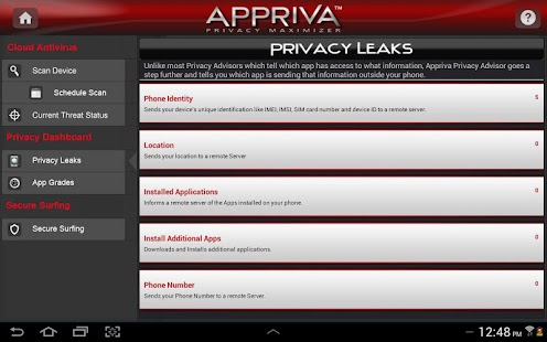 Antivirus for Android - screenshot thumbnail