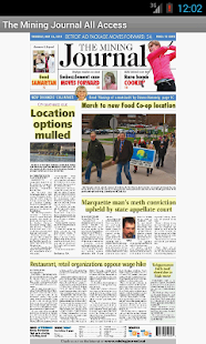 The Mining Journal All Access - screenshot thumbnail