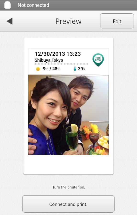 instax SHARE - screenshot