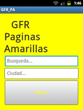 GFR Páginas Amarillas