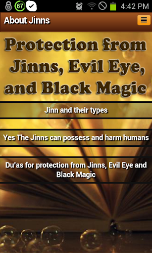 Jinns: types harm protection