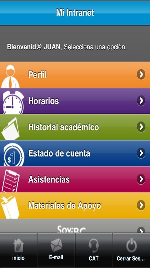 Escuela Bancaria y Comercial - screenshot