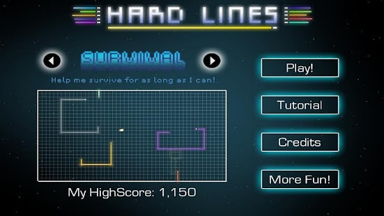Hard Lines Screenshot 1