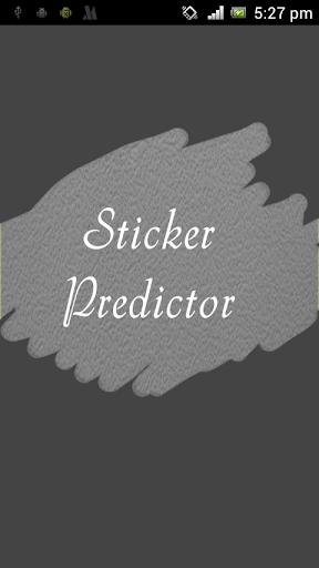 Magic Sticker Predictor