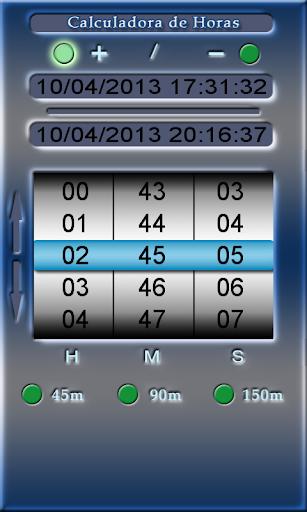 Time Calculator - DOV