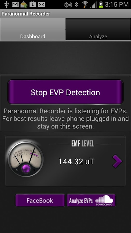 Paranormal Recorder- screenshot
