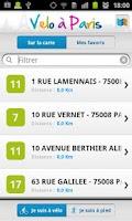 Screenshot of Paris by bike