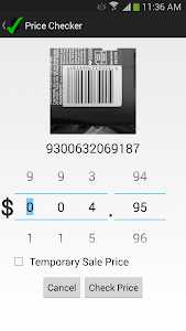 Price Checker screenshot 1
