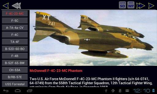 越南戰爭的飛機
