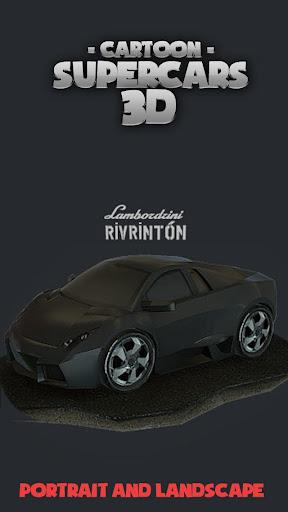 Toon Cars Reventon 3D lwp