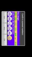 Screenshot of Mega Millions Scanner