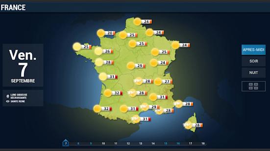 La chaine météo pour tablette- screenshot thumbnail