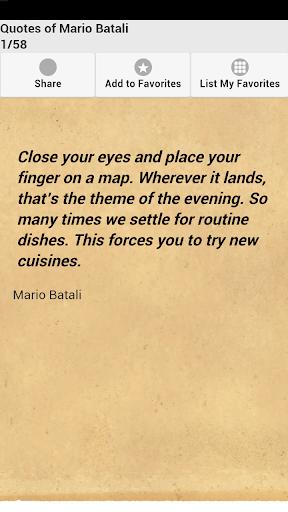 Quotes of Mario Batali