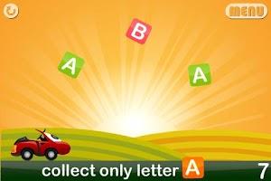 Screenshot of Kids Toy Car: ABC