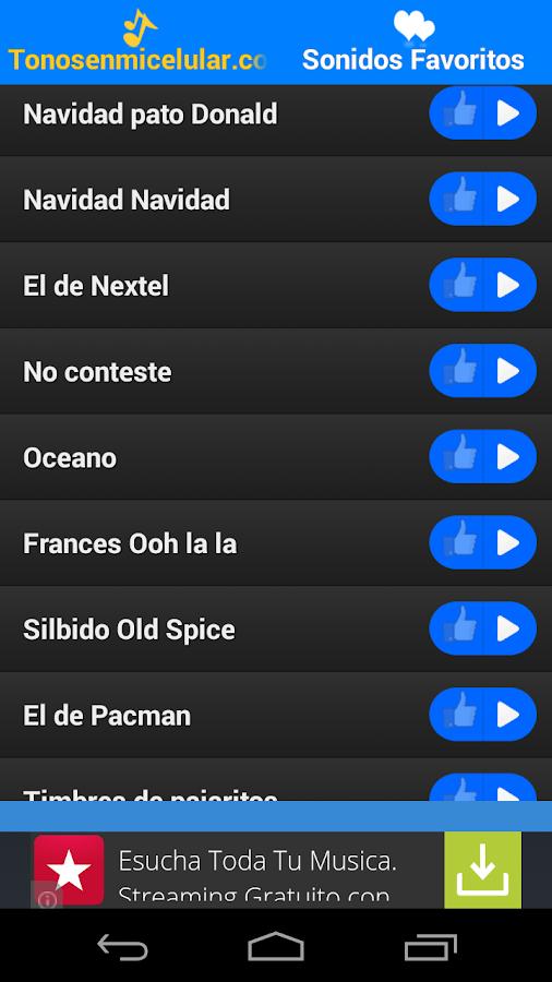 Tonos para Celular- screenshot