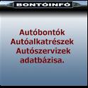Bontóinfó, Autóbontók icon