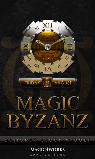 Byzanz Clock Widget