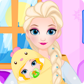 Ice Queen Give Birth To A Baby