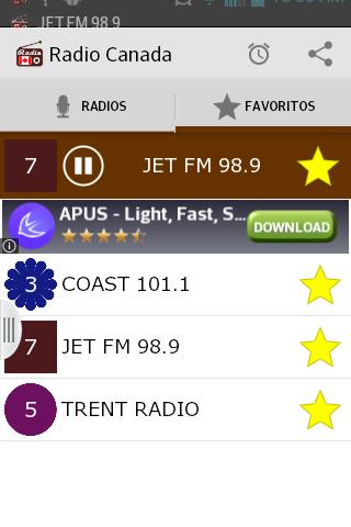 【免費音樂App】Radio Canada Online-APP點子
