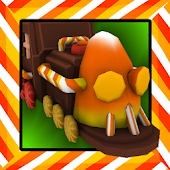 Candy World Train Adventure 3D