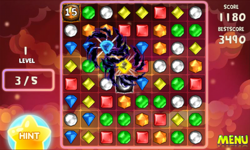 Jewels Switch - screenshot