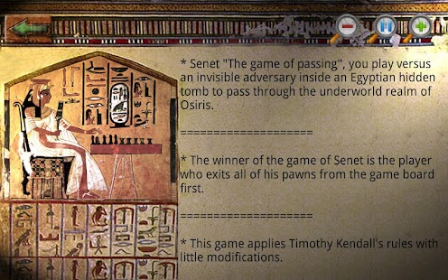 Egyptian Senet (Ancient Egypt) - screenshot thumbnail