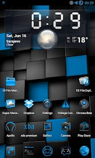 SteelBlue NG for CM9/CM10 - screenshot thumbnail