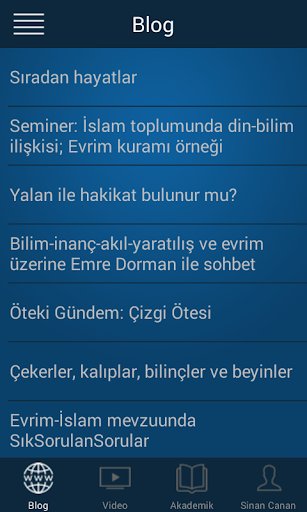 SinanCanan.net