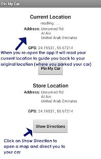 Pin My Car - screenshot thumbnail