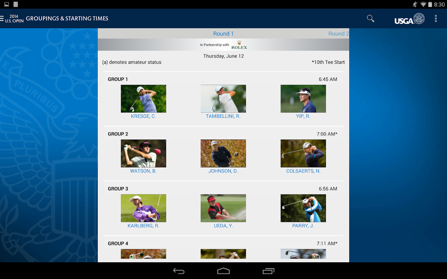U.S. Open Golf Championship - screenshot