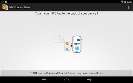 NFC vCard Editor