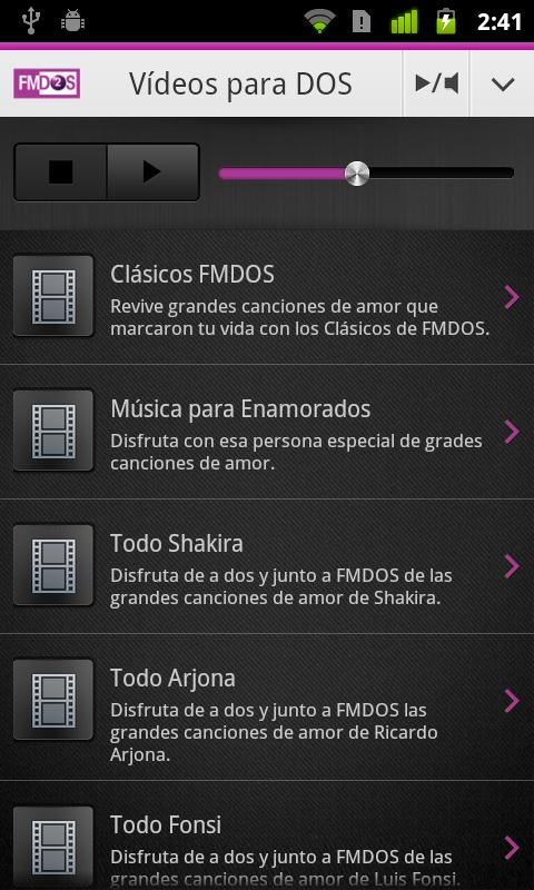 FM2 para Android - screenshot