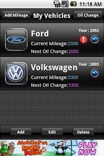 Oil Change Reminder- screenshot thumbnail