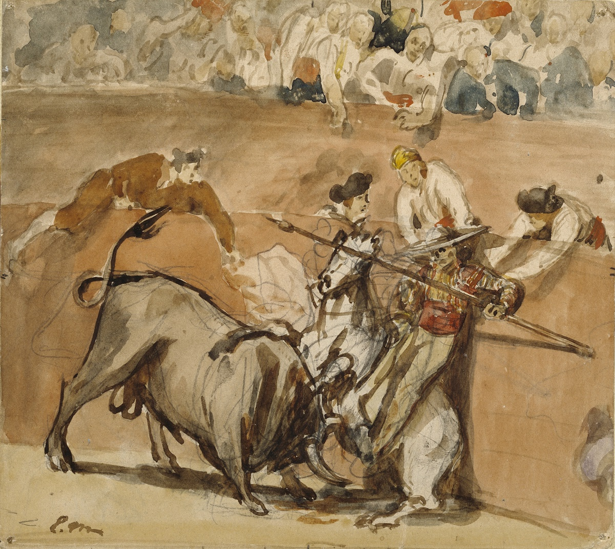 Картинки по запросу bullfight édouard manet