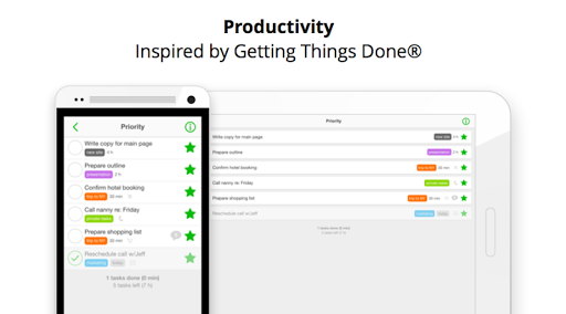 Nozbe: to-do tasks projects