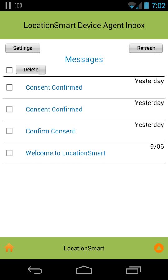 LocationSmart Device Agent - screenshot