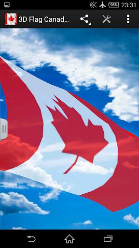 3D Flag Canada LWP