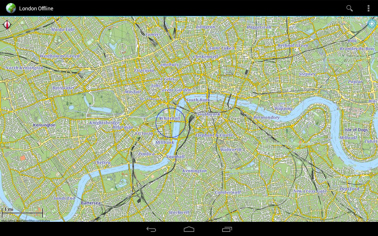 offline karte london android apps auf google play. Black Bedroom Furniture Sets. Home Design Ideas